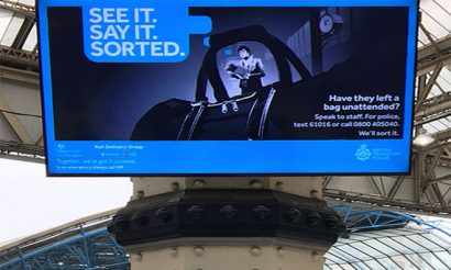 National Rail Security campaign launches at major UK railway stations