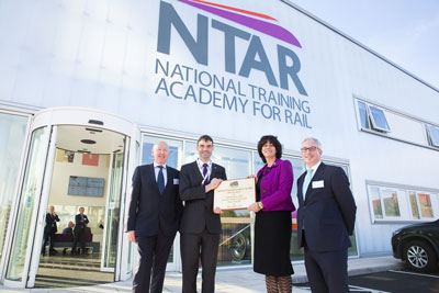National Training Academy for Rail opens