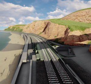 Network Rail unveils plans to protect south west rail line