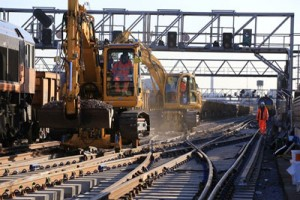 Network Rail Easter railway improvements
