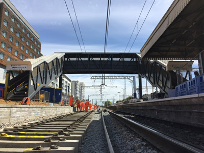 Network Rail carries out Crossrail package of work