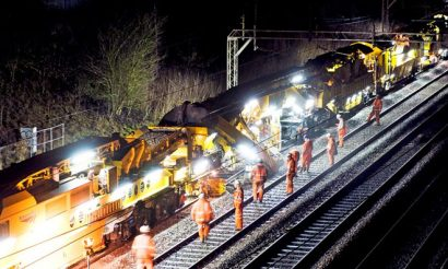 Network Rail completes four-year track renewal programme in Yorkshire