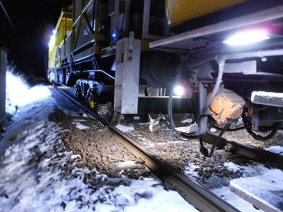 Network Rail deploys winter fleet in preparation for cold snap