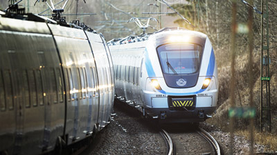 New Coradia Nordic trains begin operation on Stockholm commuter network