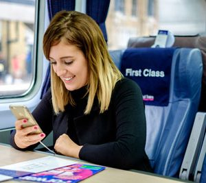 New USB charging device trialled on-board Hull Trains
