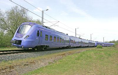 Alstom Nordic train