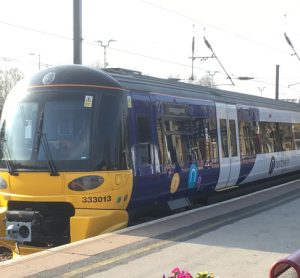 Northern's first refurbished Class 333 train makes its debut