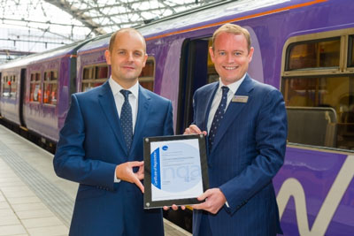 Northern Rail recognised for environmental management