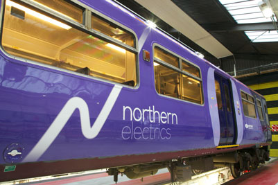 New look Northern Electric train