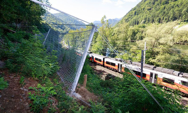 Protecting railway tracks against the threat of mother nature
