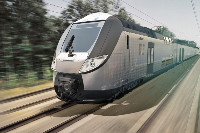 Bombardier to provide OMNEO trainsets for French intercity lines