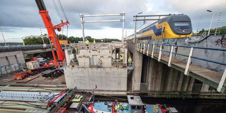 OV SAAL rail project in the Netherlands