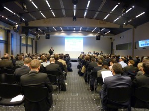 launch meeting of combined EU rail research and development projects