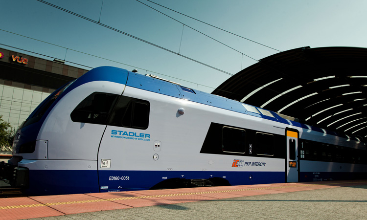 Stadler delivers further trains to PKP Intercity in Poland