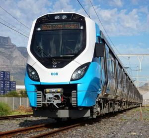 President of South Africa, Cyril Ramaphosa, unveiled the trains