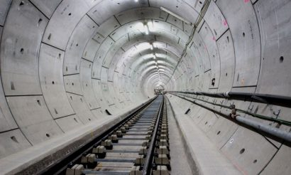 Building London's new east-to-west railway sustainably