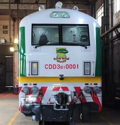 New passenger diesel locomotives revealed for Nigeria