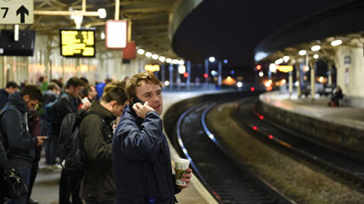Passenger perceptions of personal security on railways increases