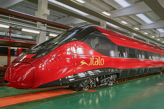 First car of NTV's Pendolino Italo revealed