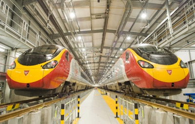 Virgin Trains Pendolino fleet
