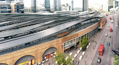 Planned London Bridge station public space and entrance revealed