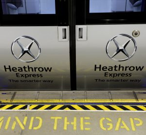 Heathrow Express installs platform gap-fillers