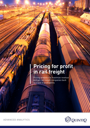 Whitepaper: Pricing for profit in rail freight