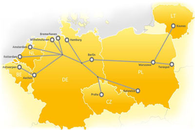 Rail Freight Corridor North Sea - Baltic route