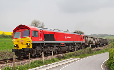 Rail freight company re-bands as DB Cargo UK