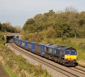 Rail freight continues to decline during 2015