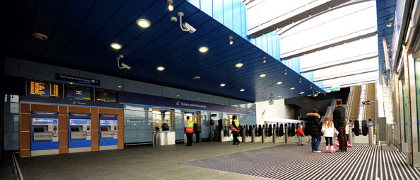 New northern entrance at Reading station
