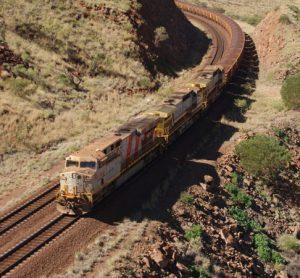 Rio Tinto freight