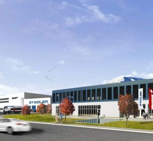 New Stadler plant in Salt Lake City, USA