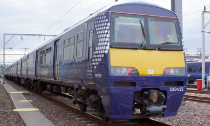 ScotRail unveils first refurbished Class 320 trains for cross-Glasgow services
