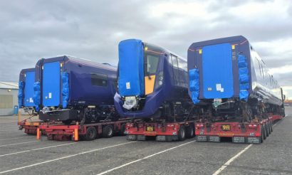 Testing of ScotRail's new Class 385 underway