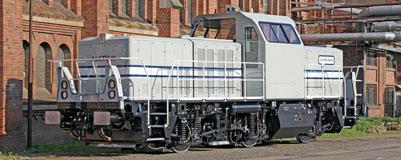 Shunting Locomotive Alstom