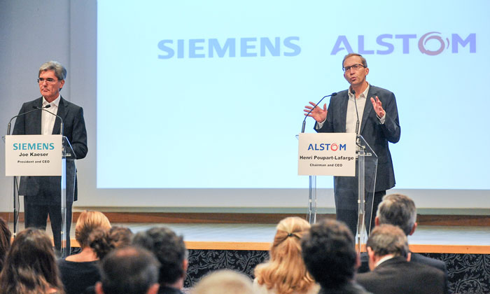 Siemens and Alstom have signed a Business Combination Agreement