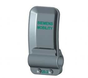 The new 3D printed door handle from Siemens Mobility