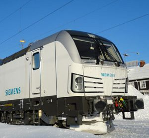 Siemens Vectron locomotive