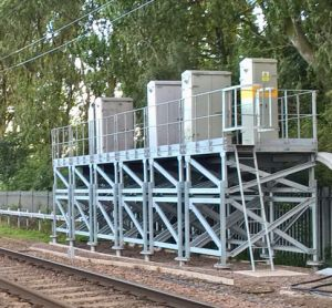 raised signalling equipment network rail