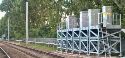 raised signalling equipment network rail