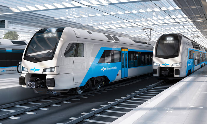 Slovania's contract for a brand-new fleet is awarded to Stadler