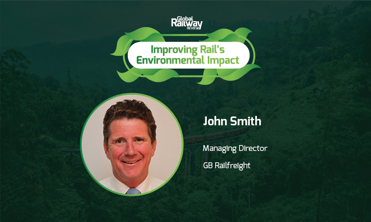 GB Railfreight John Smith Rail Environmental Net-Zero