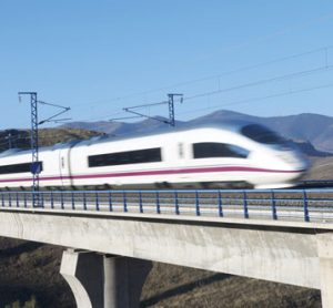 Spain's high speed high AVE train