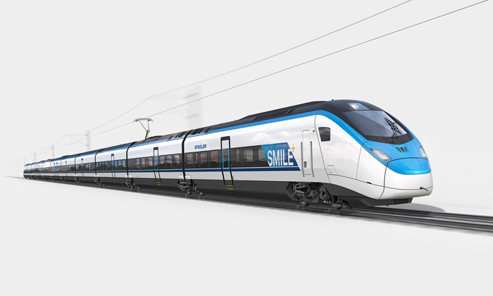 Stadler names its new high-speed train SMILE after a competition