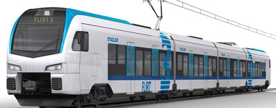 Stadler awarded €125m contract to supply FLIRT3 EMUs to the Netherlands
