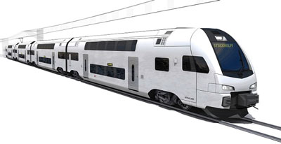 Stadler Rail to supply KISS EMUs for Swedish regional contract