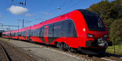 Stadler Rail FLIRT intercity trains