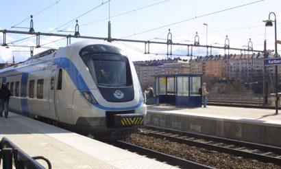 MTR begins operating Stockholm Pendeltåg commuter rail service