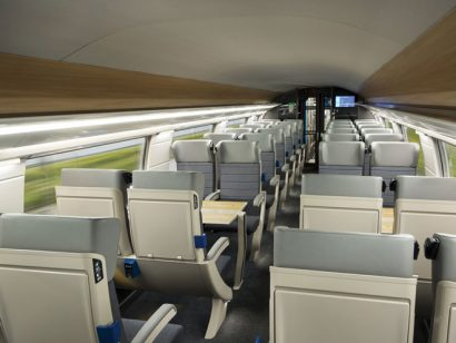 Interior designs of the new TGV Océane revealed